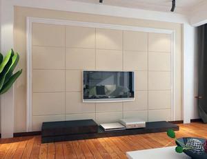 别墅现代简约客厅家装电视墙装修效果图