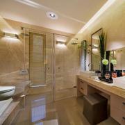 90平米欧式风格精美卫生间装修效果图
