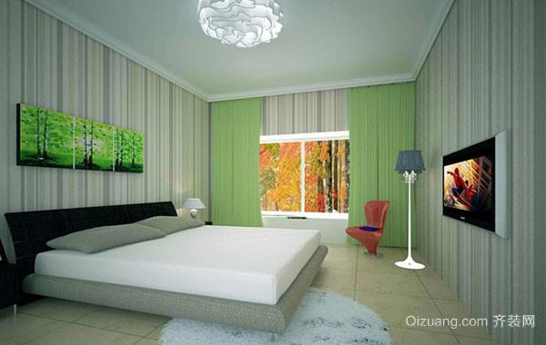 100平米时尚简约卧室装修效果图