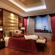 欧式奢华卧室装修图