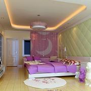 时尚靓丽卧室装修图