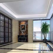 经典的别墅欧式阳台装修设计效果图实例