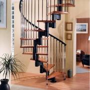时尚复古楼梯效果图