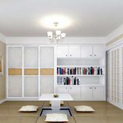 小户型舒适轻快的室内榻榻米装修效果图