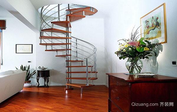别墅复式小楼楼梯装修成功案例