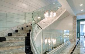 200平米复式小楼楼梯装修效果图赏析