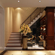 奢华楼梯装修效果图