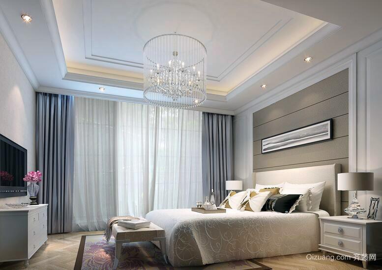 现代时尚的大户型室内吊顶装修效果图