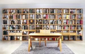 现代复古中式大气精致书房装修效果图