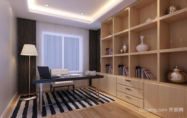 10平米现代时尚简约书房装修效果图