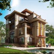 农村独栋别墅整体设计图
