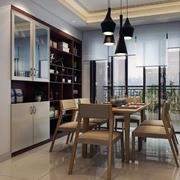 现代简约精美的两室两厅餐厅装修图欣赏