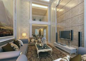 欧式风格复式楼装修效果图实例欣赏