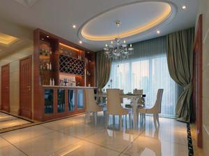 小户型欧式风格餐厅吊顶装修效果图实例