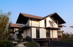 现代中式苏派别墅设计效果图