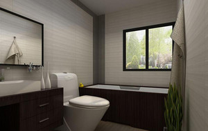 40平米小户型欧式卫生间装修效果图实例