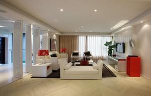 小户型家装现代简约风格客厅吊顶装修效果图