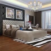 90平米精美的简欧风格卧室装修效果图