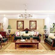 欧式客厅整体设计