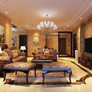 唯美奢华客厅装修效果图