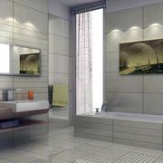 别墅型欧式风格卫生间装修效果图欣赏