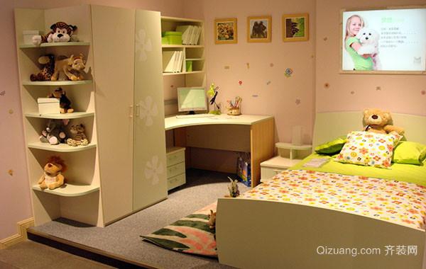 都市轻快卡通儿童房装修效果图