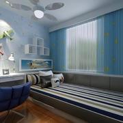 温暖儿童房背景墙效果图