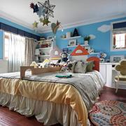 地中海风格儿童房效果图