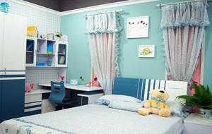 20平米简约时尚宜家儿童房效果图