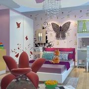 儿童房可爱吊顶效果图
