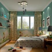 温馨儿童房壁纸装修