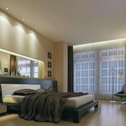现代欧式风格小户型卧室装修设计效果图实例