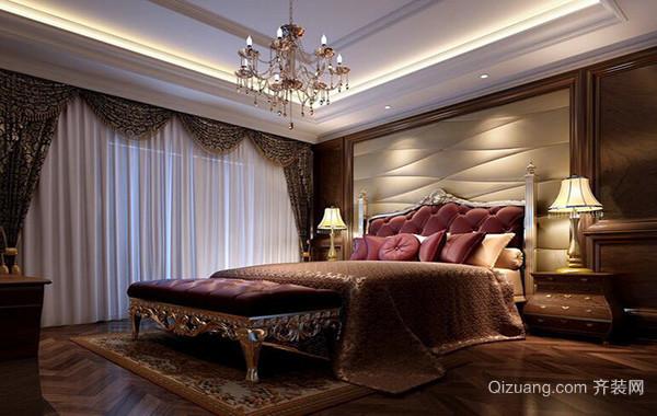 现代大户型精美的欧式卧室装修效果图实例