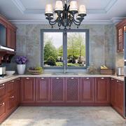 欧式风格别墅型精致的室内橱柜装修效果图