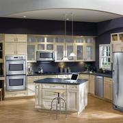 现代欧式大户型开放式厨房装修效果图实例