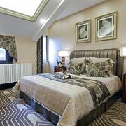 现代简约小户型卧室装修设计效果图