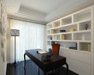 10平米现代简约时尚书房装修效果图