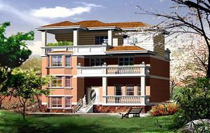 现代别墅总体设计