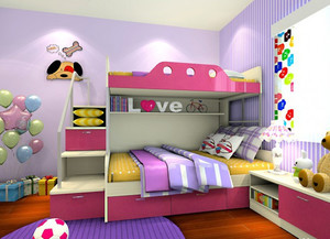 时尚儿童房装修效果图实例