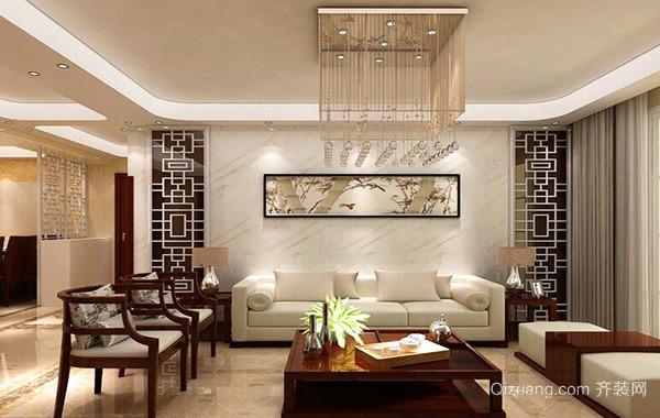 大户型现代欧式客厅沙发背景墙效果图鉴赏