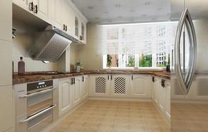 120平米别墅型欧式风格厨房吊顶装修效果图