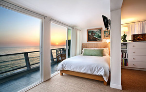 时尚简约卧室背景墙装修效果图