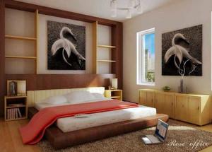 大户型现代简约风格卧室装修效果图赏析