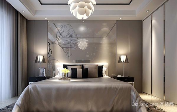 2016年现代时尚卧室整体装修效果图