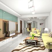别墅型时尚欧式风格客厅