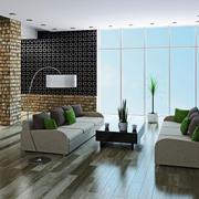 200平米别墅后现代风格客厅装修效果图