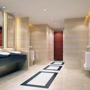 90平米欧式风格完美的卫生间装修效果图