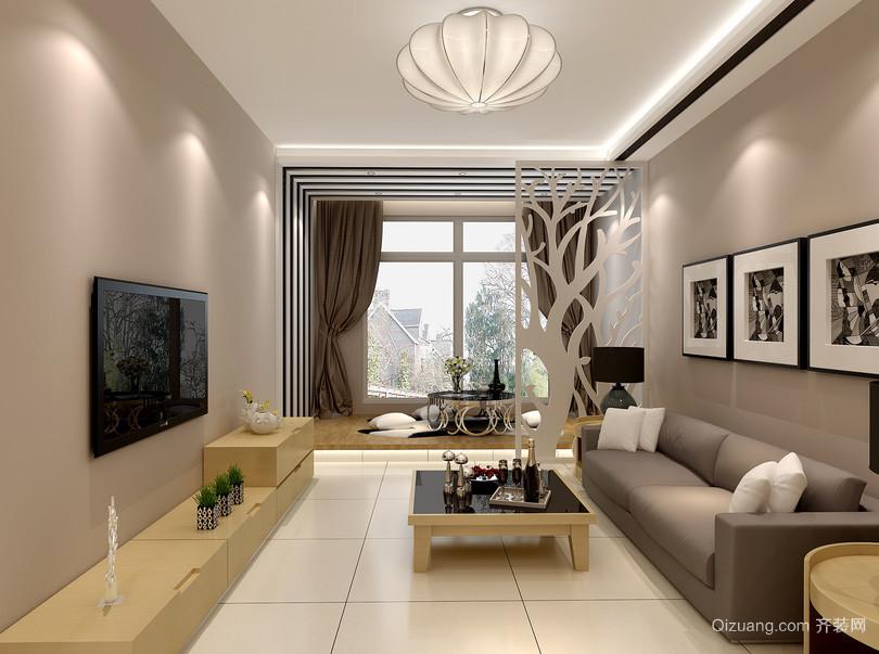 现代风格宜家时尚客厅吊灯装修效果图