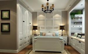 小资们都喜欢的卧室飘窗整体效果图