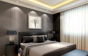 现代大户型欧式卧室床头背景墙装修效果图鉴赏